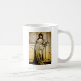 Vintage Glamour Portrait Coffee Mug