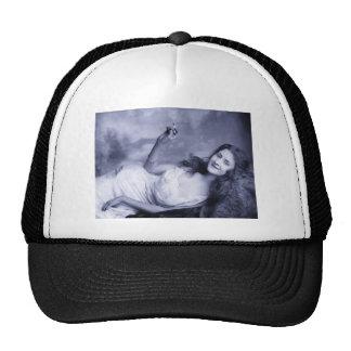 Vintage Glamour Portrait Trucker Hat