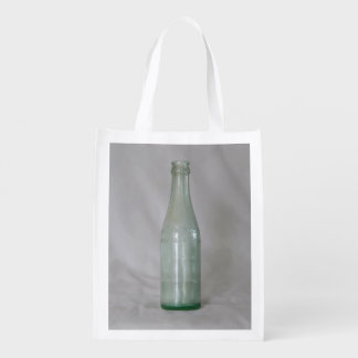 Vintage Glass Bottle Grocery Bags