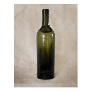 Vintage Glass Bottle Postcard