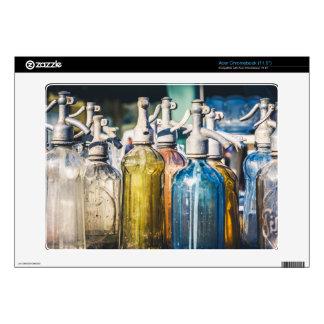 Vintage Glass Bottles Acer Chromebook Skins