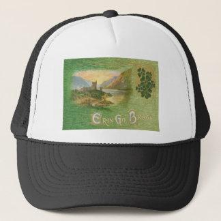 Vintage Glenveigh Castle Shamrocks St Patrick's Trucker Hat