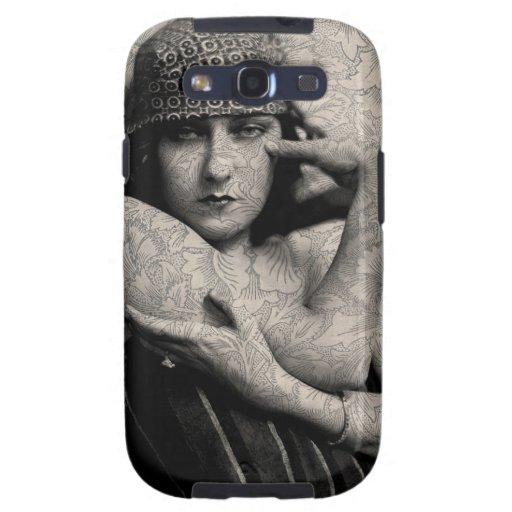Vintage Gloria de Hollywood Galaxy S3 Funda