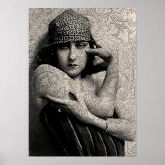 Vintage Gloria de Hollywood Impresiones
