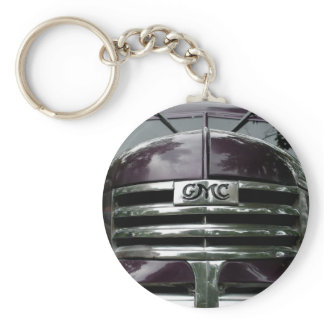 Vintage GMC Truck Grill Keychain