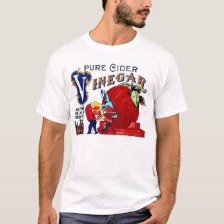 Vintage Gnome Apple Cider Vinegar Label Art T-Shirt