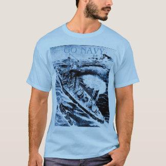 Vintage Go Navy TShirt