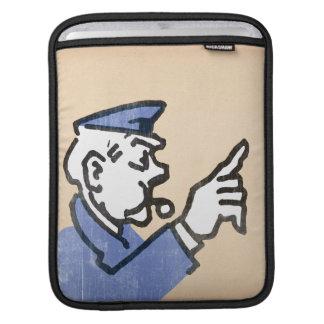 Vintage Go to Jail iPad Sleeves