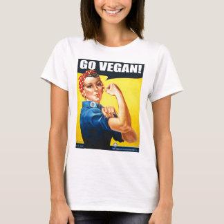 Vintage Go Vegan T-Shirt