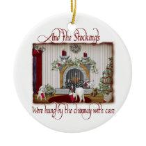Vintage Goat Christmas Ornament
