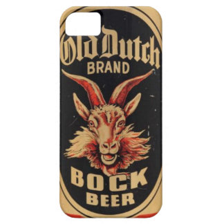 Vintage Goat Old Dutch Bock Beer Can Label Brewery iPhone SE/5/5s Case