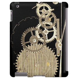 Vintage Gold Altered light Steampunk Art Gears