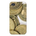Vintage Gold Coins  iPhone 4 Case