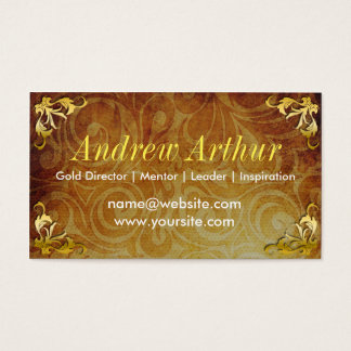 Vintage Gold - Generic Business Cards