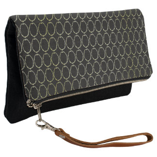 Vintage-Gold-Jewel-Circle-Black-Clutch-Multi
