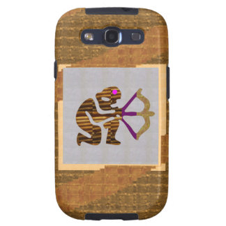 VINTAGE Gold PREMIUM gifts Hunter Bow n Arrow TIP Samsung Galaxy S3 Cases