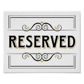 List of synonyms and antonyms of the word reserved sign for Reserved seating signs template