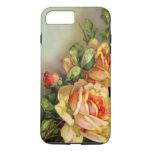 Vintage Gold Roses Iphone 7 Plus Case at Zazzle