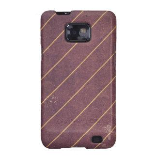 Vintage Gold Stripes Grunge Samsung Galaxy S Case