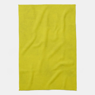 Vintage Gold Yellow Parchment Background Template Towel
