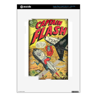 Vintage Golden Age Comic Book Decal For iPad 3