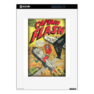Vintage Golden Age Comic Book Decals For iPad