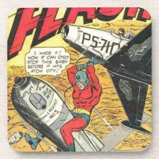 Vintage Golden Age Comic Book Drink Coaster