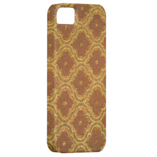 Vintage Golden Brown Damask Case-Mate iPhone 5 iPhone 5 Case