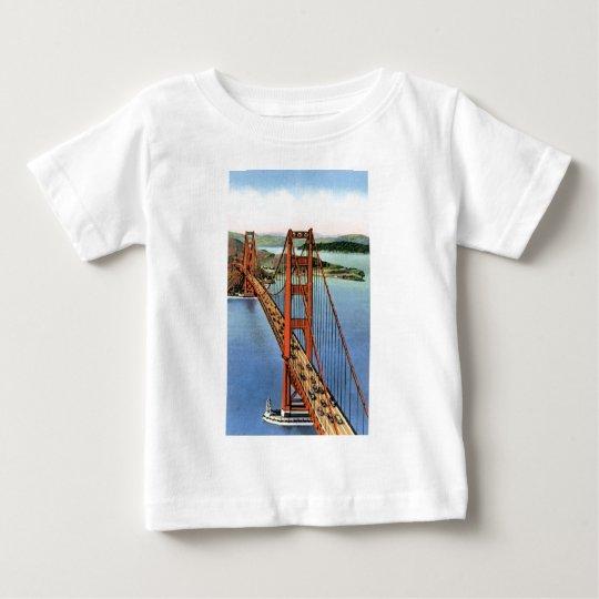 Vintage Golden Gate Bridge Baby T-Shirt