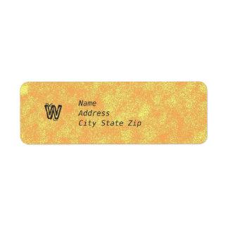 Vintage Golds Label