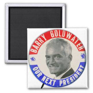 Vintage Goldwater retro 1964 para presidente Butto Iman