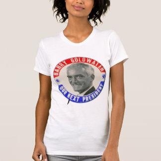 Vintage Goldwater retro 1964 para presidente Butto Camisetas