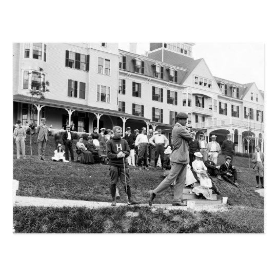 Vintage Golf, 1890s Postcard