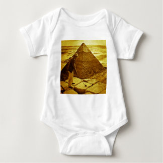 Vintage Golf at the Pyramids Baby Bodysuit