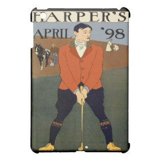 Vintage Golf Harpers Magazine Cover 1898 Case For The iPad Mini