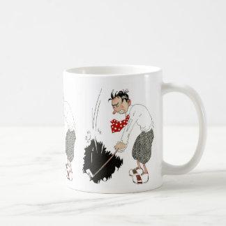 Vintage Golf Sports Humor, Funny Silly Golfer Coffee Mug