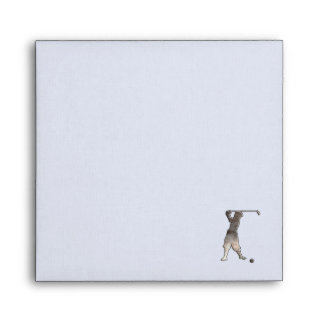 Vintage Golfer; Cool Envelopes