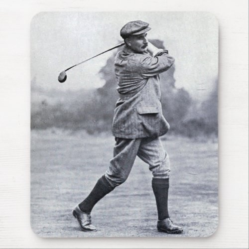 Vintage Golfer: Harry Vardon Mouse Pad