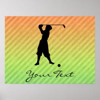Vintage Golfer Posters