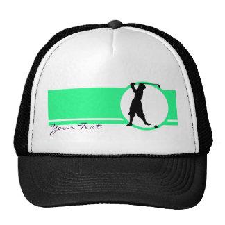 Vintage Golfer Trucker Hat