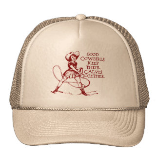 Vintage Good Cowgirls Hat