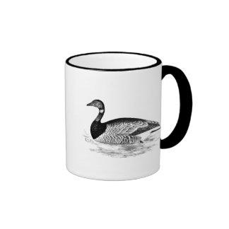 Vintage Goose Illustration -1800 s Geese Template Coffee Mug