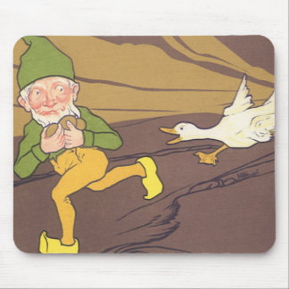 Vintage Goose that Laid the Golden Egg Aesop Fable Mouse Pads