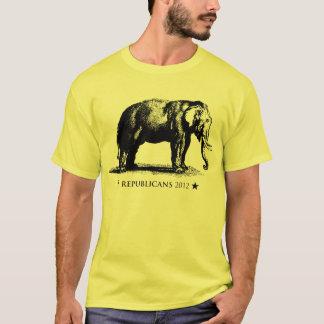Vintage GOP Elephant Republican 2012 Election T-Sh T-Shirt