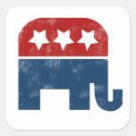 Vintage GOP logo Stickers