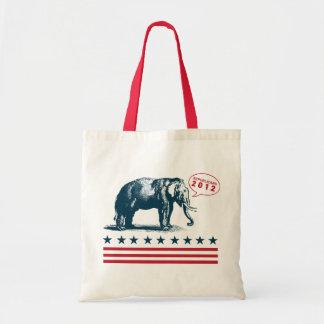 Vintage GOP Patriotic Republican Tote Bag