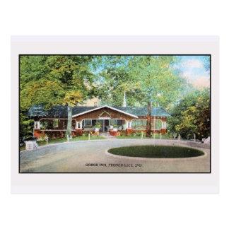 Vintage Gorge Inn Frenck Lick, Ind. Postcards