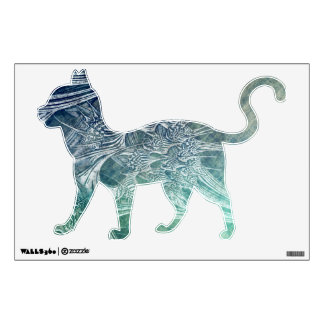 Vintage Gorgeous Custom Cat Wall Decal