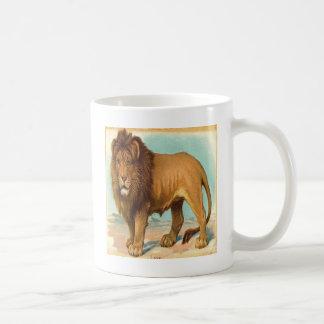 Vintage, Gorgeous Lion Coffee Mugs