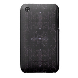 Vintage Gothic Elegance Jewels iPhone 3 Case-Mate Case